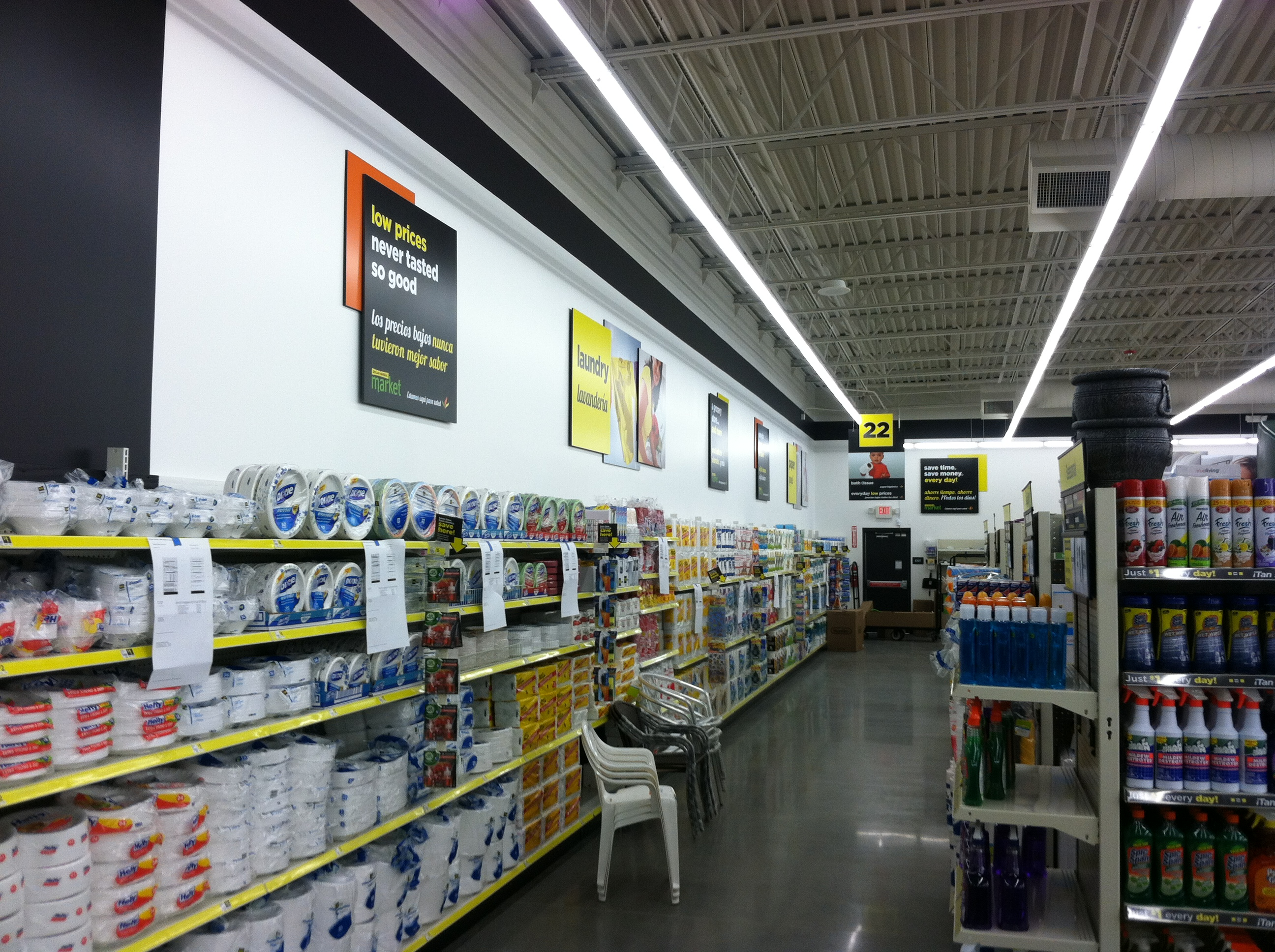 dollar general store More than three in four americans will live within five miles of a dollar general  when the 900 new stores come online in 2018, according to the.