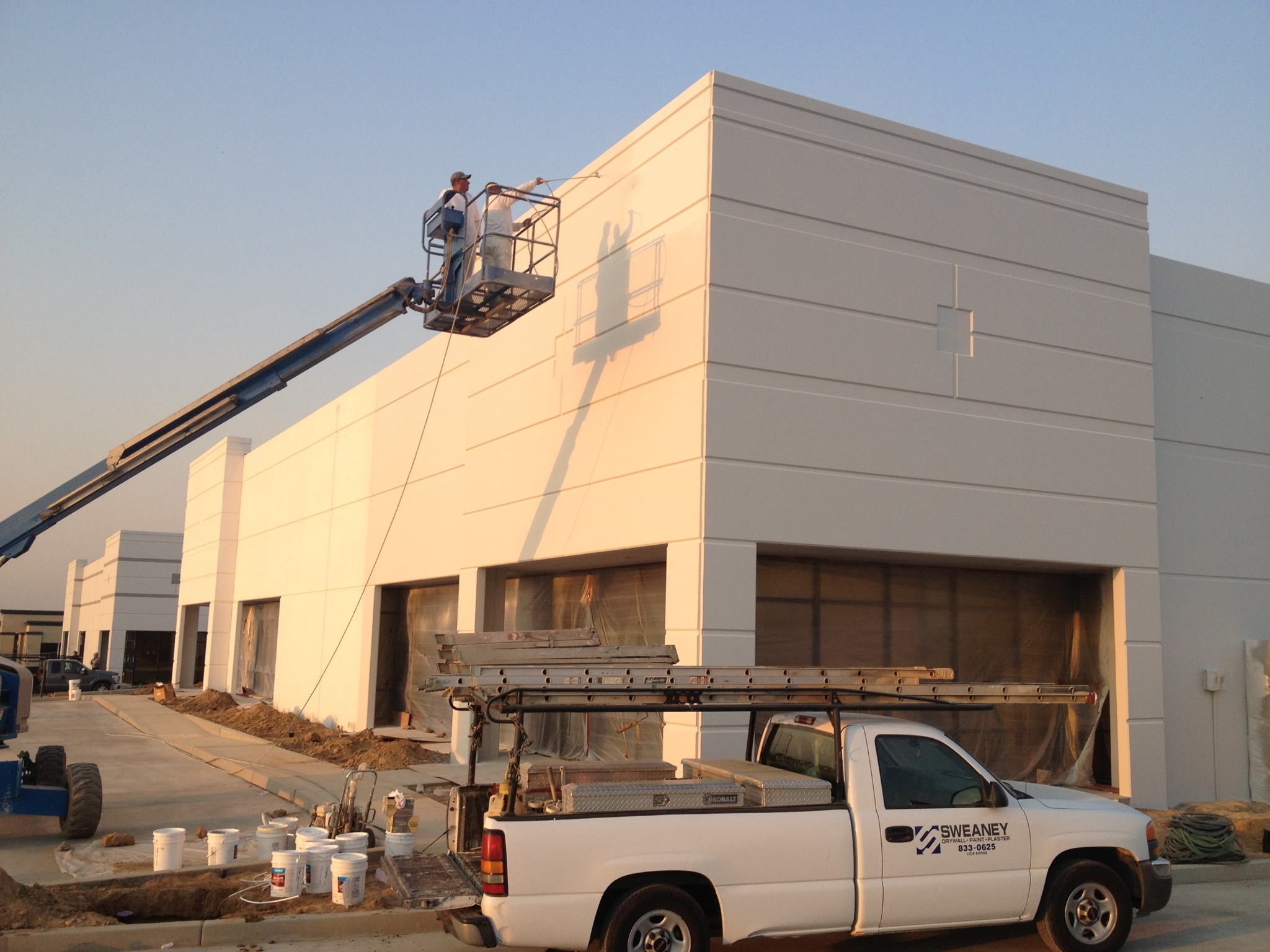 sweaney inc  metal stud framing  drywall and painting