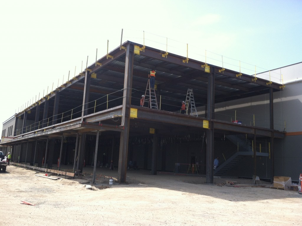 4/15/2014-First day on site