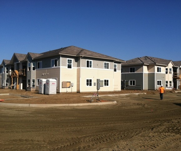 Sycamore Square Apartments: Sweaney Inc. Metal Stud Framing, Drywall And Painting
