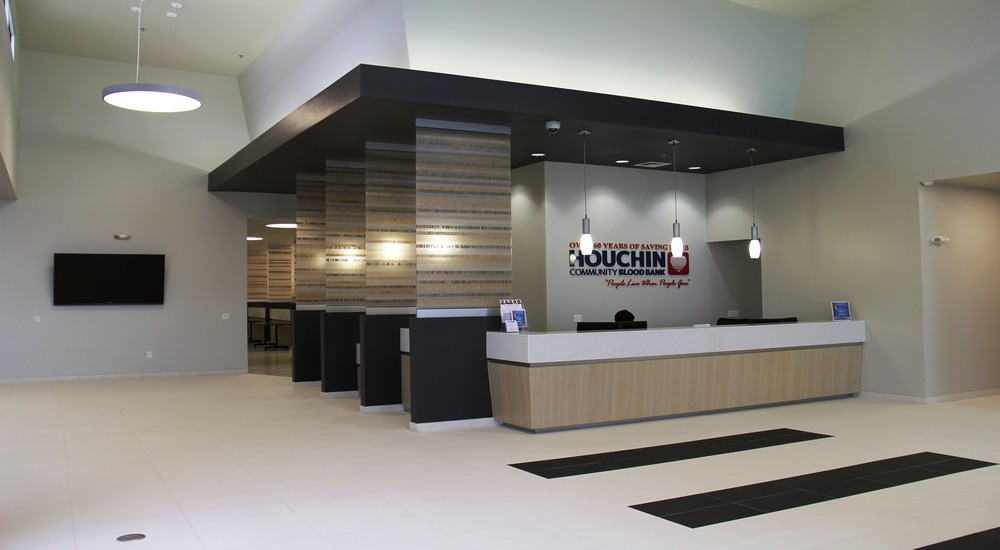 Front Desk New Modern Cal Services Bldg Sweaneyinc